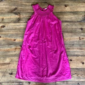 J.Crew Hot Pink Cotton Sun Dress XS